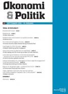 økonomi og politik