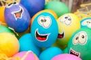 Smiley easter egg
